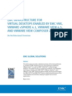 Architecture - EMC Infrastructure for Virtual Desktops vSphere 4.1 - View 4.5 - View Composer 2.5 - 5 IOPS