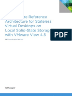 Architecture - Stateless Virtual Desktops on Local Solid-State Storage With VMware View 4.5