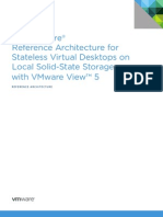Design - Stateless Virtual Desktops on Local SSD with VMware View™ 5