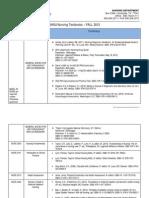 Fall 2012 Textbook List