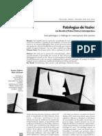 Patologias Do Vazio
