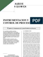 Fundamentos de Control Predictivo de Procesos Instrumentación y Control de Procesos