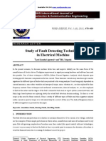 Study of Fault Detecting Techniques