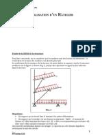 Etude de La RDM de La Structure