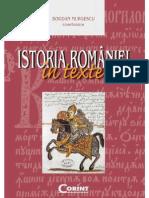 Bogdan Murgescu Istoria Romaniei in Texte