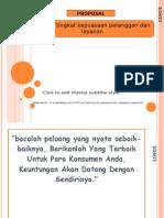 proposal survey tingkat kepuasan dan layanan