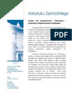 Łukasz Wróblewski - Kryzys Unii Gospodarczej i Walutowej - przyczyny i dotychczasowe rozwiązania