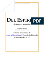 25337283 Derrida Jacques Del Espiritu