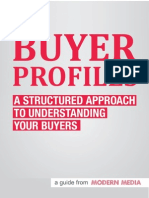 Understanding Buyer Profiles