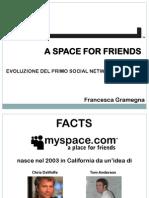 Presentazione Myspace
