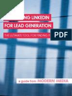 LinkedIn Lead Generation - Modern Media