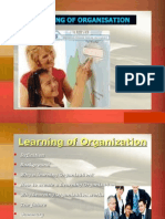 Learning of organisation