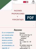 Razones Proporcionalidad y Porcentajes Blog1