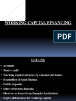 Working Capital Financ