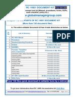 RC 14001 Documents