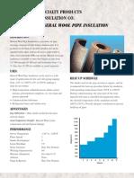 Mineral Wook Data Sheet