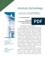 Maria Wagińska-Marzec - Rozwój czy stagnacja? Współpraca kulturalna Polski i Niemiec po podpisaniu traktatu o dobrym sąsiedztwie i przyjaznej współpracy