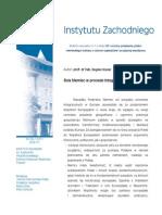 Bogdan Koszel - Rola Niemiec w procesie integracji Polski ze WE/UE