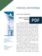 Jadwiga Kiwerska - Obama w Warszawie i amerykańskie posłannictwo