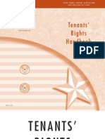 Texas Tenants Rights Handbook