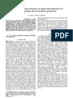 Paper 1_Single Step Transesterification