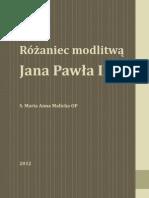 Rozaniec Modlitwa Jana Pawla II