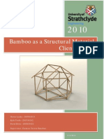 Bamboo as a Structural Material