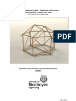 Modular Bamboo House - Assembly Instructions
