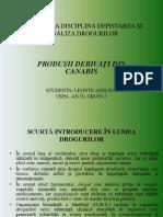 PROIECT LA DISCIPLINA DEPISTAREA ȘI ANALIZA DROGURILOR