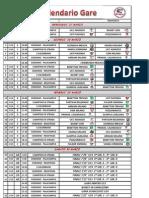 Calendario Torneo 2013