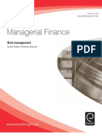 Managerial Finance Risk Management
