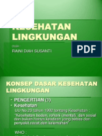 KESEHATAN LINGKUNGAN1