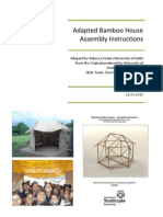 Adapted Bamboo House Assembly Instructions