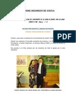 INFORME MISIONERO DE SUECIA FEB 2009