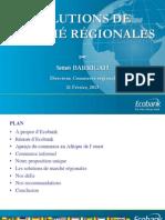 Solutions de Marchés Régionales