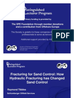 Hydraulic Fracturing & Frac Pack