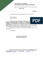 Projeto de Lei Estagio Supervisionado 006-2013