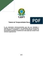 Tabela Temporalidade Documental