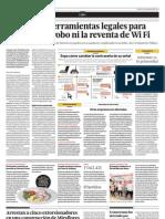 No Existen Herramientas Legales Para Penalizar El Robo Ni La Reventa de Wi Finta