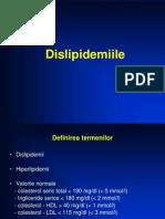Dislipidemii, Obezitate, Hiperuricemii - CAM
