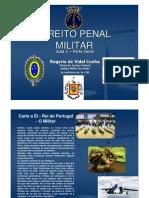 curso direito penal militar - introdução - parte geral