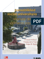 RSU Manual de Responsabilidad Social Universitaria BID