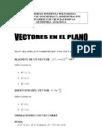 Clase Vectores