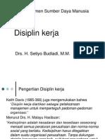 13 Disiplin kerja (Manajemen Sumber Daya Manusia)