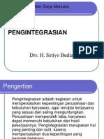9 Pengintegrasian (Manajemen Sumber Daya Manusia)