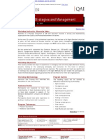 Agile Test Strategies and Management