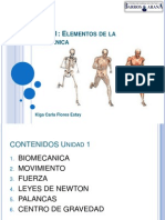 Unidad 1 Elementos de la biomecánica