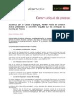 CP Enquete Running Caisse d'Epargne Uniteam Kantar 26032013