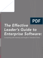 The Effective Leader's Guide to Enterprise Software