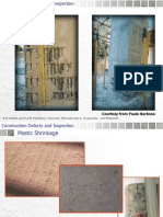 Construction Defects in concrete